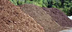 wood by products mulch and wood chips